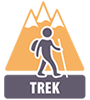 Type de circuit : Trek