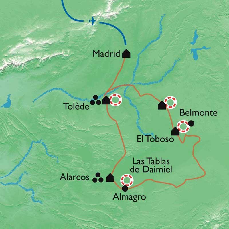 Randonnée Tolede Et La Route De Don Quichotte