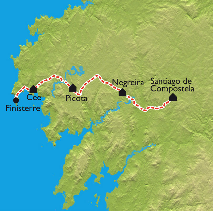 Walking Holidays Santiago de Compostela from Santiago to