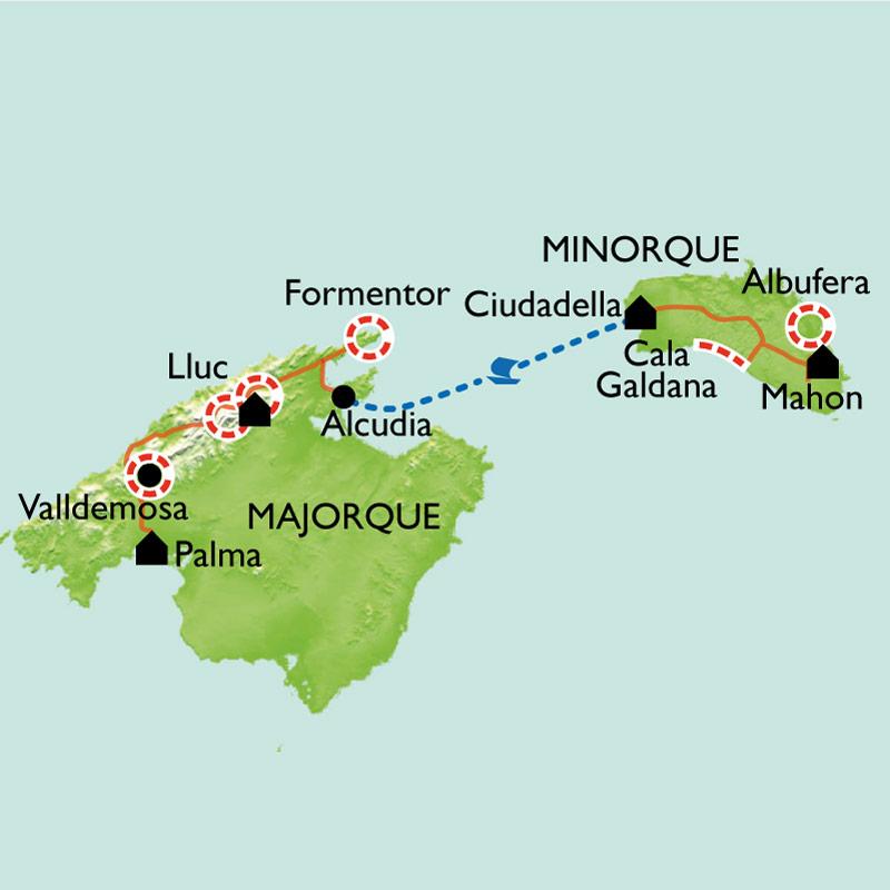 Randonn 233 E Bal 233 Ares En Libert 233 Majorque Et Minorque
