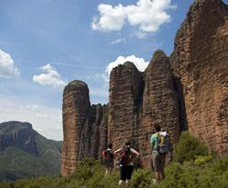 Randonnée en Espagne : CITADELLES DE PIERRE EN ARAGON