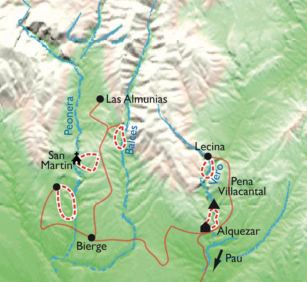 Randonnée Sierra de Guara - Pyrénées Aragon