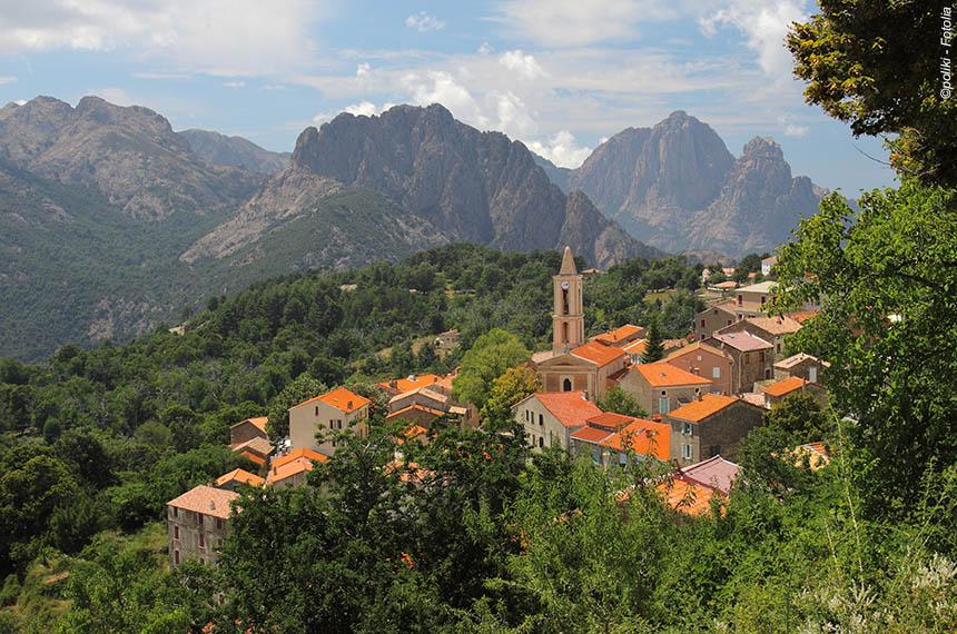 Corse, de la montagne à la mer