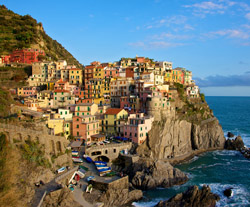 Randonnée en Italie : CINQUE TERRE. Le golfe des poètes.