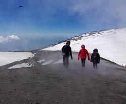 Randonnée en Italie : Sicile - Volcans actifs de Sicile, du Stromboli à l'Etna