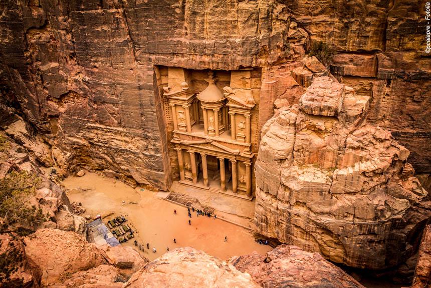 Petra et le Wadi Rum