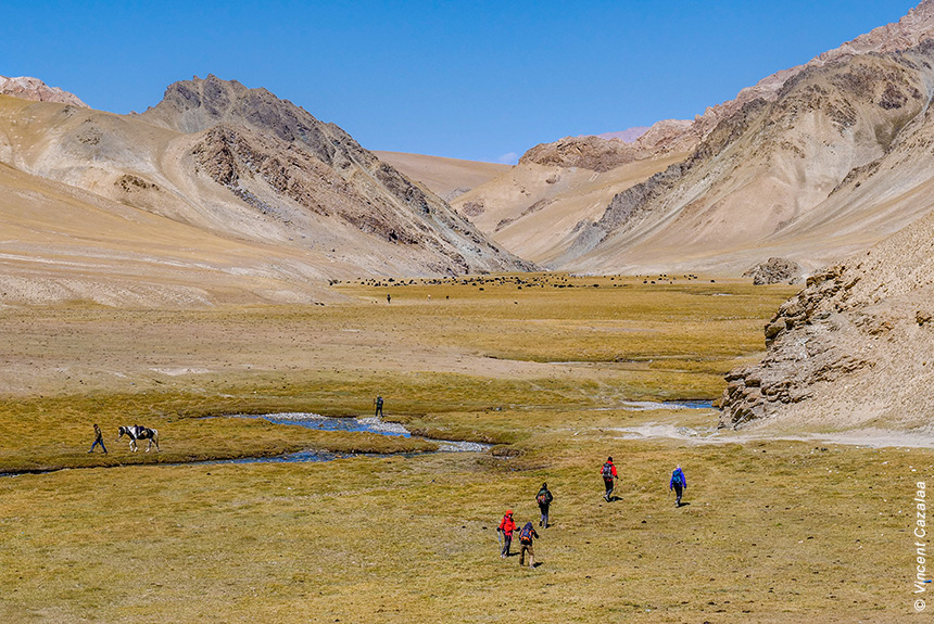Nomades et steppes kirghizes