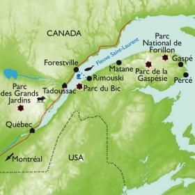 Carte Québec, grandeur nature !