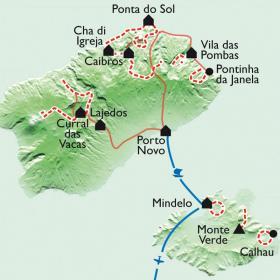 Carte Sur les chemins du métissage