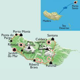 Carte A la découverte de l'île aux fleurs