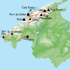 Carte La face cachée de Majorque