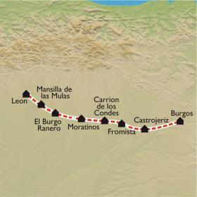 Carte De Burgos à León