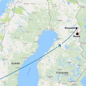 Carte Aventure hivernale en Laponie