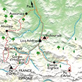 Carte Basaburia, le pays basque authentique