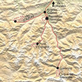Carte Rando et musique au cœur des Pyrénées