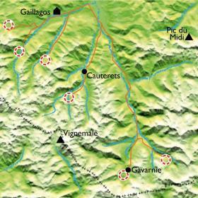 Carte Val d'Azun, en compagnie de Stéphane...