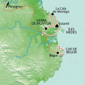 Carte Réveillon sur la Costa Brava, le paradis insoupçonné