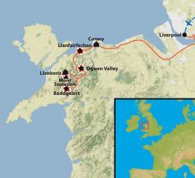 Carte Talk and Walk au Pays de Galles