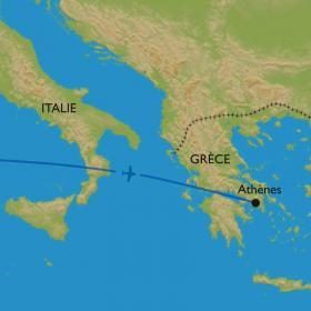 Carte Extension à Athènes