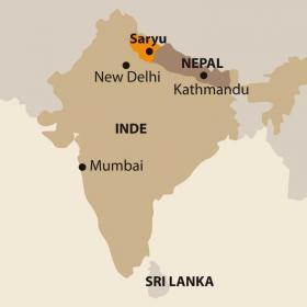 Carte VILLAGE WAYS, Saryu-Pindar, les balcons de la Nanda Devi