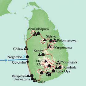 Carte Rando nature-culture à Ceylan