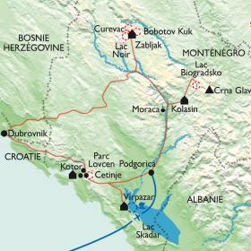 Carte Voyage en Syldavie.