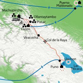 Carte Chez les Incas en famille
