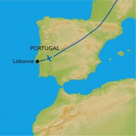 Carte Lisbonne, city trek au son du Fado