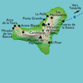 Carte Hierro, l'île du