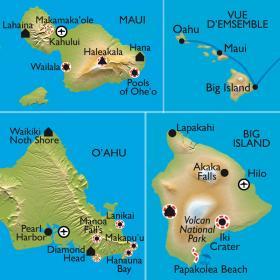 Carte Trek à Hawaii : Aloha, Hula et Waimea