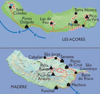 Carte Archipels Atlantique
