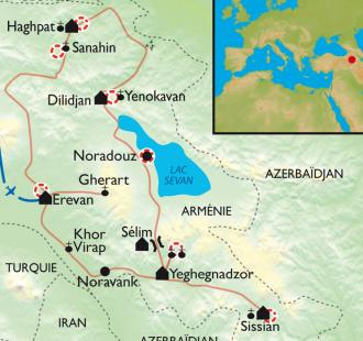 Carte Balades au pays d'Ara