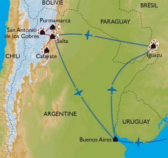 Carte Univers argentins