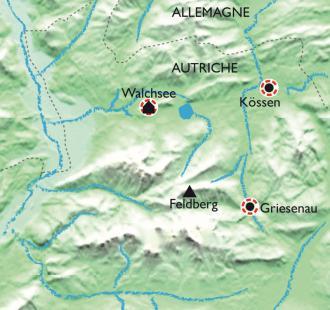Carte Le Tyrol enchanteur
