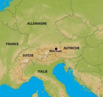Carte Raquettes douillettes en Tyrol
