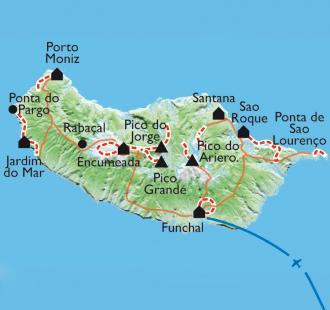Carte Le jardin de l'Atlantique