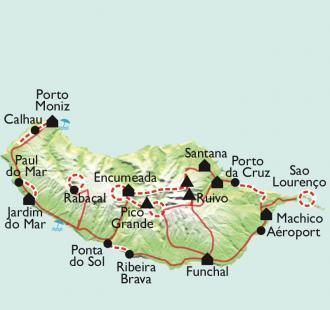 Carte L'intégrale de Madère