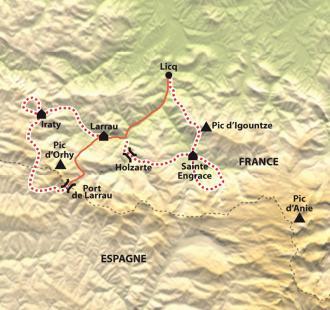 Carte Pays Basque Basaburia, le charme authentique