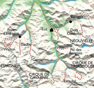 Carte Balnéo Néouvielle Gavarnie, montagne, forme et bien-être