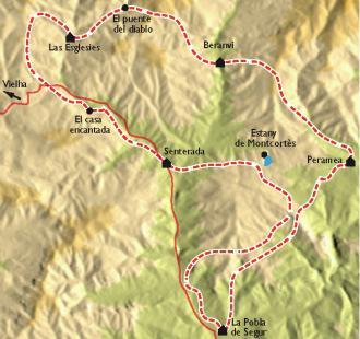 Carte Sentiers et légendes d'antan, dans les montagnes catalanes