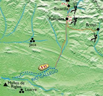 Carte L'Aragon, nature et aventures en famille