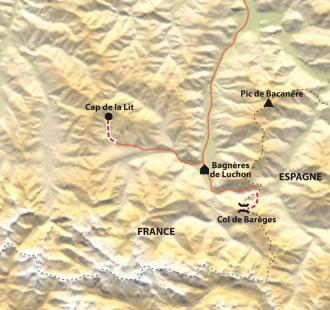 Carte Réveillon confort en Pays Luchonnais