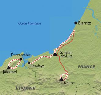 Carte Réveillon Côte Basque, à Saint-Jean-de-Luz