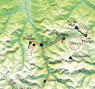 Carte Safari hors-piste, découverte du ski de rando