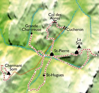 Carte Trésors de bien être en Chartreuse
