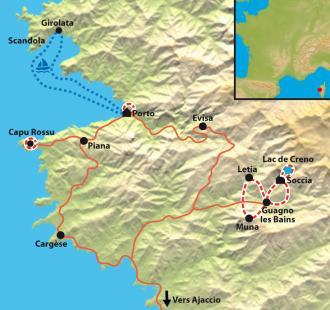 Carte Corsica Bella