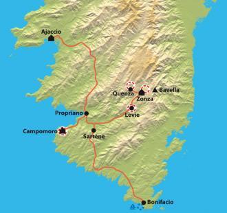 Carte Culture et patrimoine du Sud