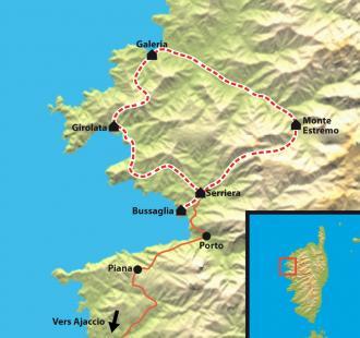 Carte Mare e Monti, les perles de l'île de beauté