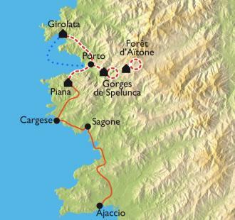 Carte Mare e Monti, randos et baignades en famille
