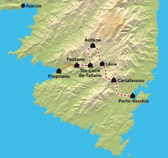 Carte Mare a mare sud, L'Alta Rocca